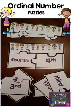 Ordinal number puzzles!