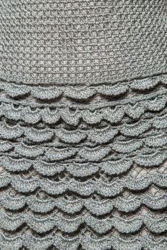 Vestido Crochet Gold Coast Off - Vanessa Montoro - vanessamontoro