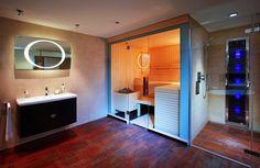 Design Infrarotkabine für das Bad