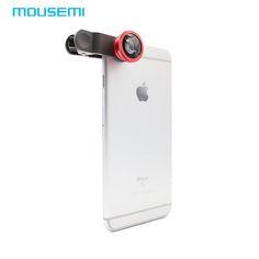 Universal 3 En 1 Lente de la Cámara Del Teléfono Móvil kit de Clip-on Fish eye + macro + lente de ojo de pez de gran angular para iphone 5 6 samsung s celular lente