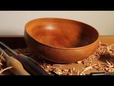 Turning a Calabash Bowl - YouTube