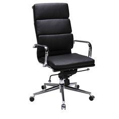 Valencia High Back Chair Black