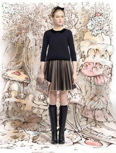 RED Valentino Fall/Winter 2013-14 Collection.