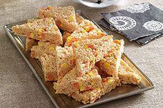 Candy Corn-Marshmallow RICE KRISPIES® TREATS™