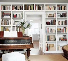 music room/ library
