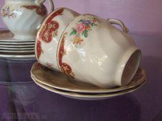 Lovely Vintage Tea Set For Sale in Artane, Dublin from Tea Sets For Sale, Tea Sets Vintage, Johnson Brothers, Side Plates, Declutter, Chelsea, Cups, Food, Mugs