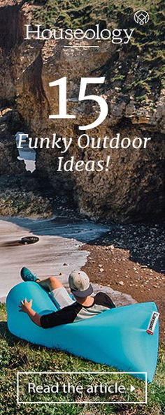 Be inspired to transform your garden or outdoor space this summer with our top 15 funky outdoor furniture ideas!