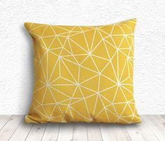 Geometric Pillow Cover Pillow Case Pillow Cover by 5CHomeDecor, $14.99