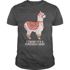 I think it is a portable goat T-Shirts, Hoodies. VIEW DETAIL ==►…