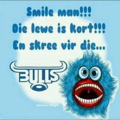 smile man!!!!!!!!! Hot Rugby Players, Cool Tattoos, Awesome Tattoos, Afrikaans, Blue, Smile, Random, Cats, God Tattoos