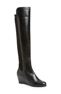 So sleek and stylish. Will be wearing these Stuart Weitzman over the knee boots all season.