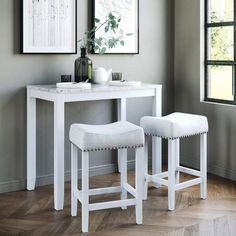 Shop for Nathan James 41201 Viktor Dining Set Kitchen Pub Table Marble Top Fabric Seat Wood Base, Light Gray/White online - Goodlucktou Pub Dining Set, Solid Wood Dining Set, Pub Table Sets, Pub Set, 7 Piece Dining Set, Dining Room Sets, Dining Table, Bar Tables, Console Table