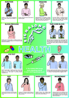 Health Poster, J) Posters, Signalong Store Sign Language Chart, Sign Language For Kids, Sign Language Phrases, Sign Language Alphabet, Learn Sign Language, Deaf Language, Australian Sign Language, British Sign Language, Libra