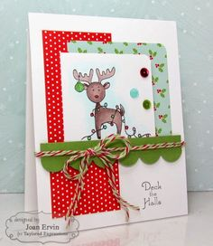 Stamping with a Passion!: Taylored Expressions October Sneak Peeks: You've Got Mail - Christmas and Deck the Halls