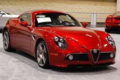 The Alfa Romeo 8C is one of the greatest looking cars of all time; a current and future classic.