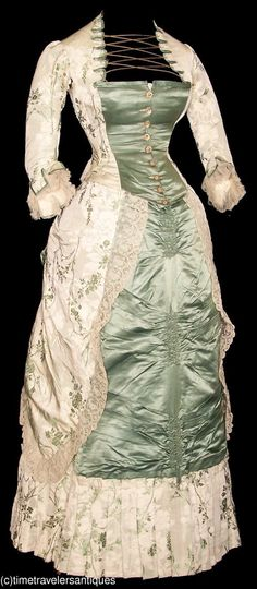 All The Pretty Dresses: 1880's Spring Gown