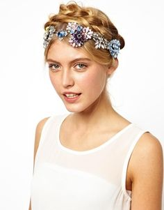 jewel crown headband