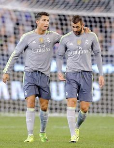 Cristiano Ronaldo & Karim Benzema - Real Madrid