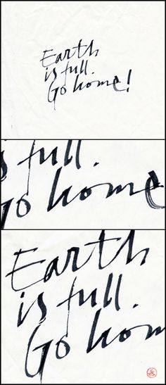 Calligraphy with Pilot Parallel Pen by Sergey Shapiro, via Behance