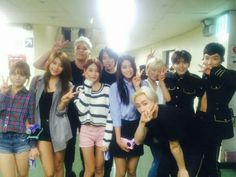 Super Junior and AOA