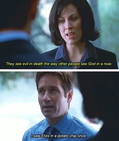 Smartass, Mulder I love you