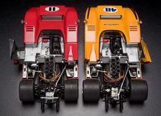 1:18 Scale GMP McLaren M8B & M8D Set