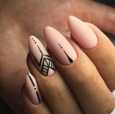 Manik re N gel - Nageldesigns Manik re N gel - AccentNails CoffinNails Manicures manikure nagel NailArt NailArtDesigns NailDesign StilettoNails # Hair And Nails, My Nails, Nagellack Design, Nail Swag, Accent Nails, Nagel Gel, Stylish Nails, French Nails, Nail Manicure