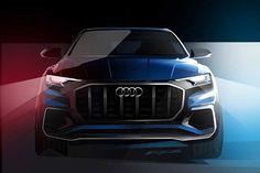Audi começa a revelar o Q8, que será apresentado em Detroit