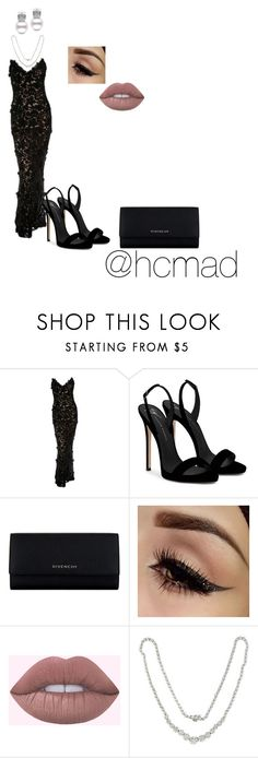 """""""Untitled #122"""" by hcmad on Polyvore featuring Oscar de la Renta, Giuseppe Zanotti, Givenchy and Effy Jewelry"""