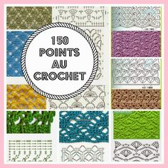 CROCHET : 150 points au crochet - diagrammes