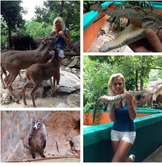 Thanks to Dimazenka all the way from #Russia for her visit to #CrocoCunZoo