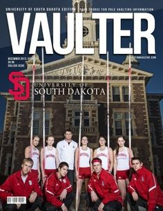 South Dakota Pole Vaulters featured on the cover of Vaulter Magazine.