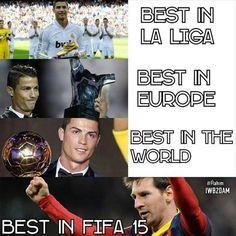 Ronaldo vs Messi in 2014