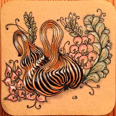 """Ulrike tangelt ☺: Diva Challenge No. 242 - official Tangle """"Gourdgeous""""."""