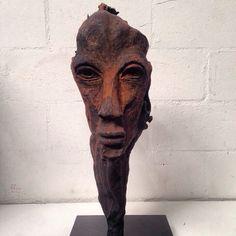 Afro Mask Sculpture