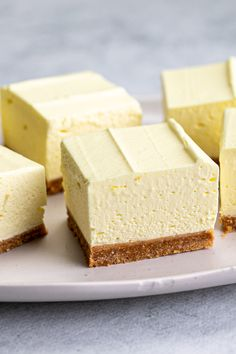 Lemon Recipes, Sweet Recipes, Baking Recipes, Cake Recipes, Dessert Recipes, Flummery, Jelly Slice, No Bake Slices, Quick Cake