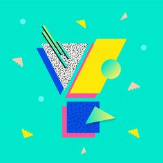 Back to the #80s ! My #Y for #36daysoftype 1st edition. #36days_y…