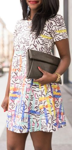 print and pattern -- the perfect pop for any summer dress!