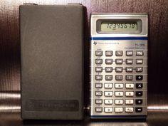 Calculatrice-calculator-TEXAS-INSTRUMENTS-TI-35-Retro-80-039-s