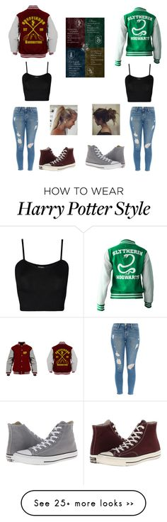 Untitled #366 by hummingbirdgrl on Polyvore featuring WearAll, Frame Denim and Converse