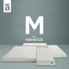Wir verbringen zu viel Zeit im Bett, um uns keine Gedanken über unsere Matratze zu machen. Sie muss zu der darauf liegenden Person passen, dabei kommt es auf Faktoren wie Körpergröße oder Gewicht an. Auping Matratzen sind individuell angepasst und sorgen durch ihr Federverhalten für Druckentlastung und unterstützen den Körper im Schlaf. Somit werden Sie in eine optimale Liegeposition gebracht.  #aupingde #aupingabc #matratzen #schlafkomfort #boxspringbetten #betten… Mattresses, Beds, Sleep, Thoughts