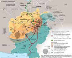 Carte Afghanistan