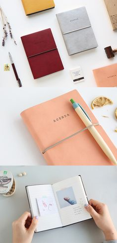 It's smart to have a small notebook with you at all times to capture those spontaneous tasks, thoughts, ideas, lists, & more! Choose a stylish one like this sophisticated little notebook. It has a luxurious cover as well as a back pocket to hold your receipts, memos, or photos! The attached elastic band keeps it neat even when it's in your purse or backpack, so take it with you everywhere you go!