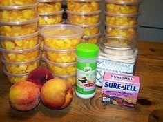 Frozen Lunchbox Peaches