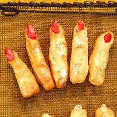 Ladies Fingers and Mens Toes Make fingers and toes from these soft and flavorful pretzels