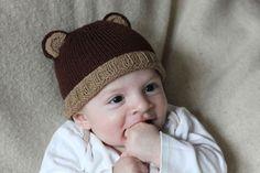 Baby Bear Hat pattern