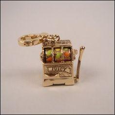 Juicy Couture Slot Machine Charm