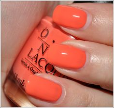 OPI Hot & Spicy, bought this today & can't wait to put it on!!! The little things!!