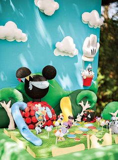 mickey mouse clubhouse scene