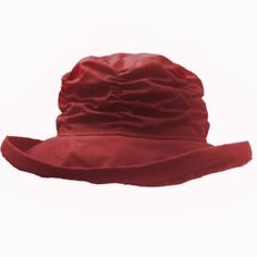 Flat Pack Rain Hat, Waxed Cotton Waterproof hat 8 colors Free UK delivery Made in UK